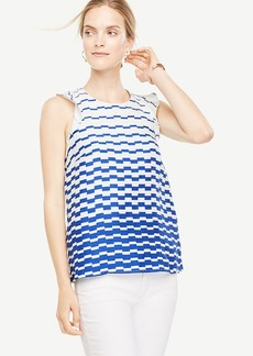 Blurred Stripe Top