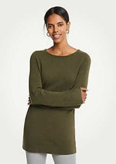 Ann Taylor Boatneck Tunic Sweater