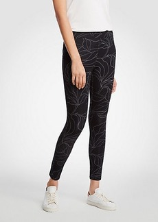Ann Taylor Botanical Leggings