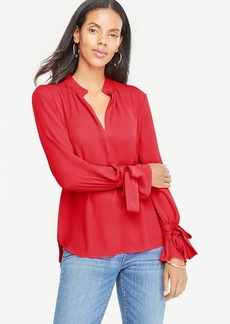 Bow Cuff Blouse