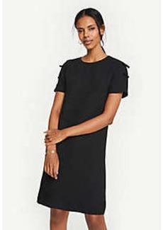 Ann Taylor Bow Sleeve T-Shirt Shift Dress