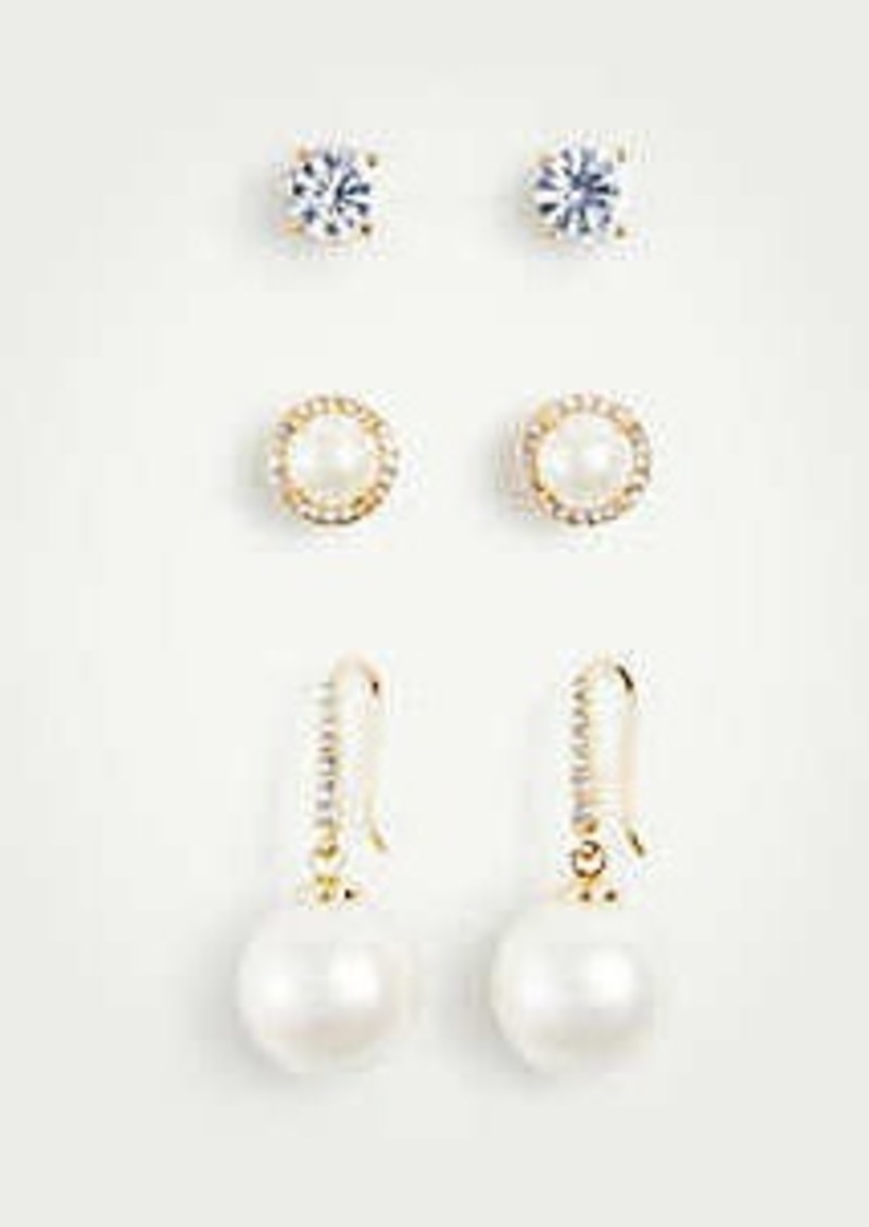 Ann Taylor Gift Boxed Earring Set