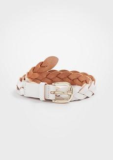 Ann Taylor Braided Leather Belt
