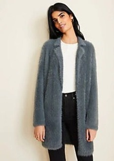 Ann Taylor Brushed Long Cardigan