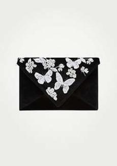 Ann Taylor Butterfly Garden Envelope Clutch