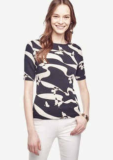 Butterfly Jacquard Top