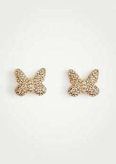 Ann Taylor Butterfly Stud Earrings
