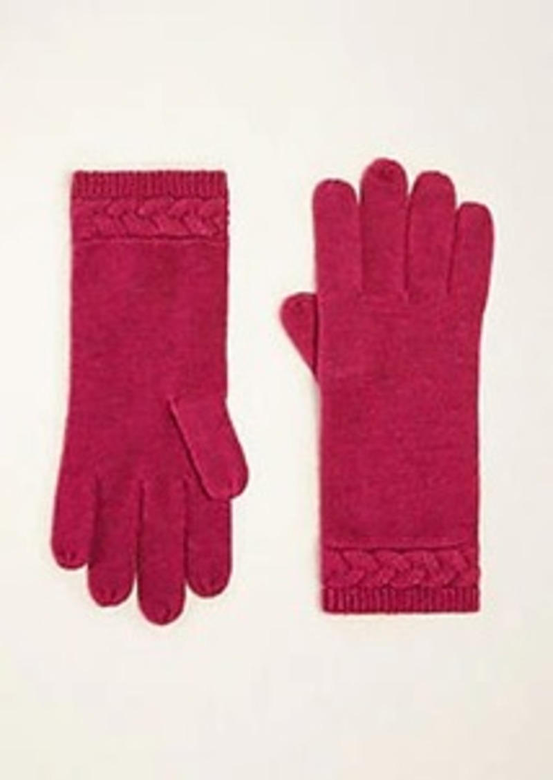 Ann Taylor Cable Gloves