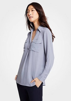 Ann Taylor Camp Shirt