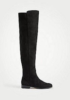 Ann Taylor Carlene Suede Over The Knee Boots