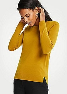Ann Taylor Cashmere Crew Neck Sweater