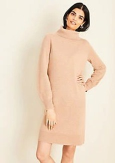 Ann Taylor Cashmere Turtleneck Dress