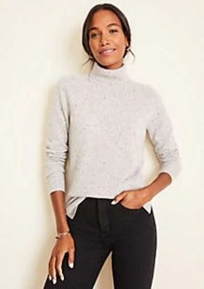 Ann Taylor Cashmere Turtleneck Sweater