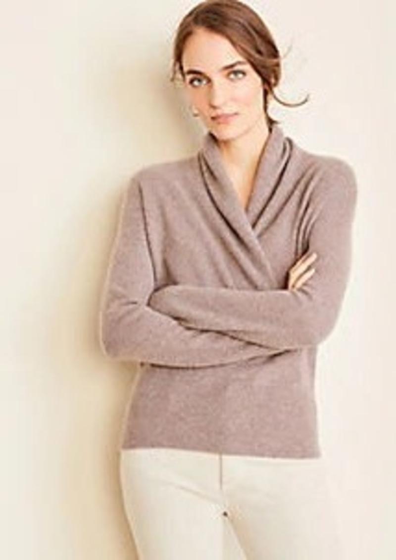 Ann Taylor Cashmere Wrap Sweater