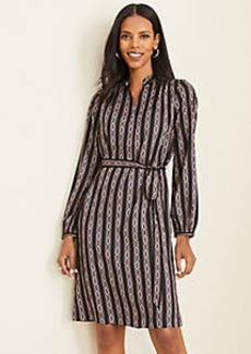 Ann Taylor Chain Link Shirtdress
