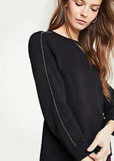 Ann Taylor Chain Sweatshirt