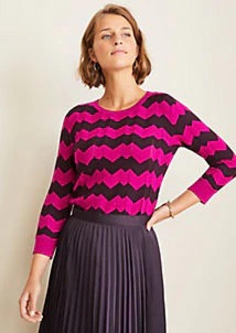 Ann Taylor Chevron Sweater