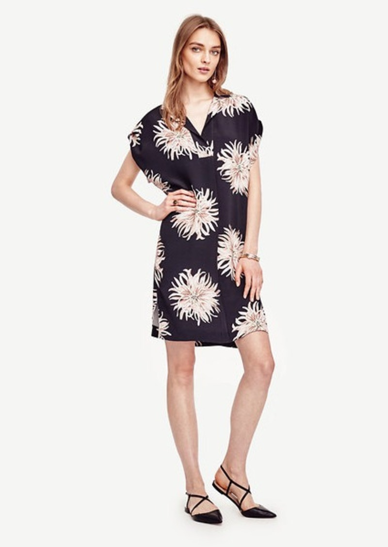Ann Taylor Chrysanthemum Shirtdress
