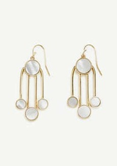 Ann Taylor Circle Stone Earrings