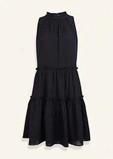Ann Taylor Clip Ruffle Shift Dress