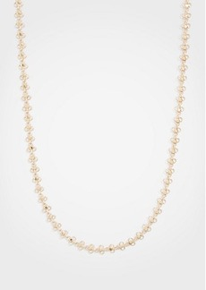 Ann Taylor Clover Station Necklace