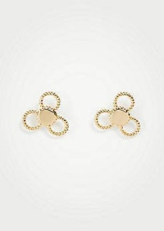 Ann Taylor Clover Stud Earrings
