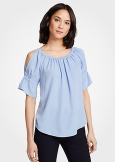 Ann Taylor Cold Shoulder Top