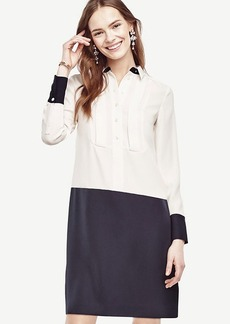 Colorblock Shirtdress