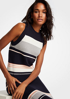 Ann Taylor Colorblock Sweater Shell