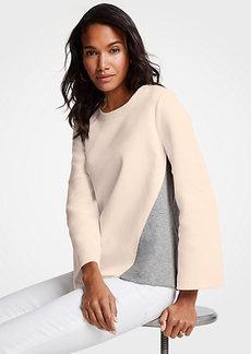 Ann Taylor Colorblock Sweatshirt