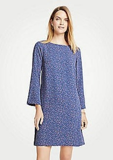 Ann Taylor Confetti Slit Sleeve Dress