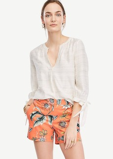 Ann Taylor Coral Oasis City Shorts