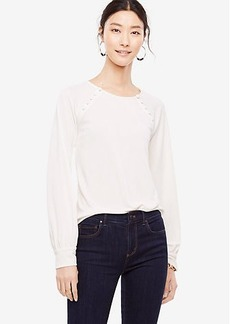 Covered Button Trim Top