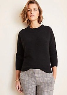 Ann Taylor Cozy Crew Neck Sweater