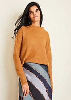 Ann Taylor Cozy Mock Neck Sweater