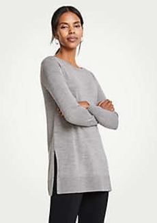 Ann Taylor Crew Neck Tunic Sweater