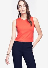 Ann Taylor Cropped Shell
