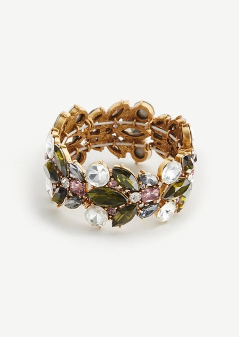 Ann Taylor Crystal Burst Stretch Bracelet