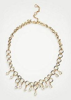 Ann Taylor Crystal Circle Necklace