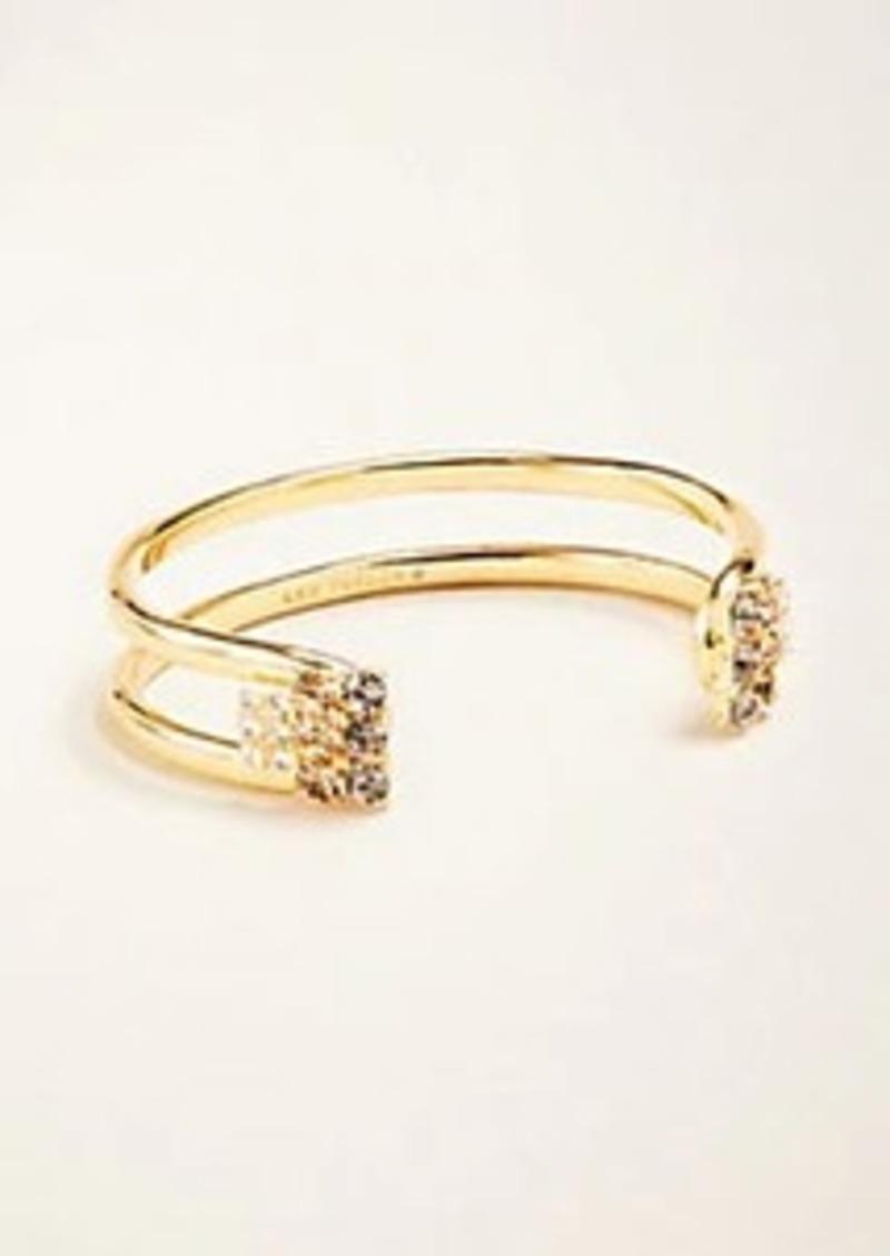 Ann Taylor Crystal Cuff Bracelet