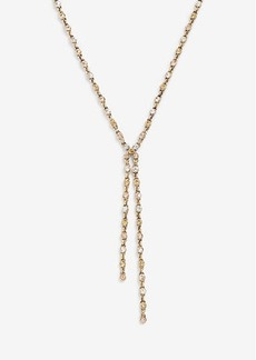 Ann Taylor Crystal Lariat Necklace