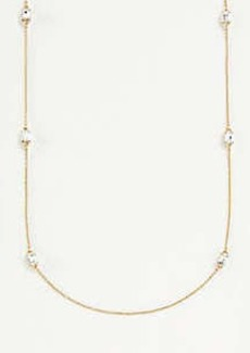 Ann Taylor Crystal Layering Necklace