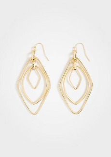 Ann Taylor Crystal Metallic Earrings