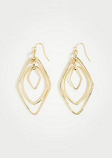 Ann Taylor Crystal Metallic Earrings