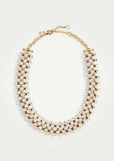 Ann Taylor Crystal Necklace