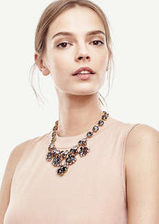Ann Taylor Crystal Statement Necklace
