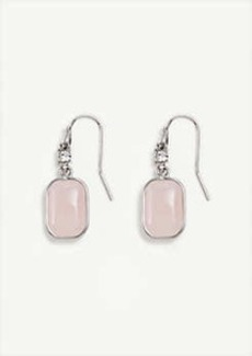 Ann Taylor Crystal Stone Drop Earrings