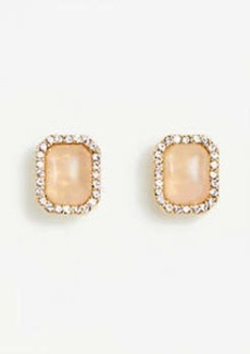 Ann Taylor Crystal Stone Stud Earrings