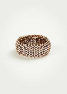 Ann Taylor Crystal Stretch Bracelet