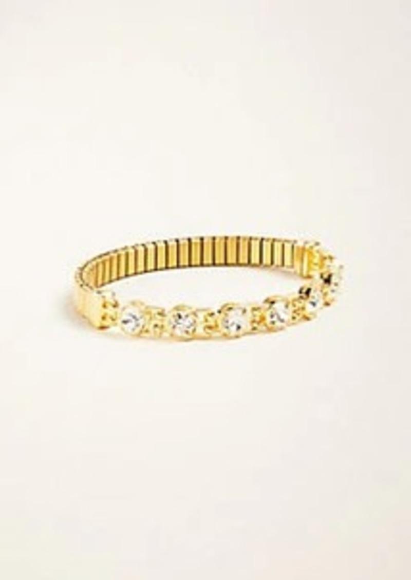 Ann Taylor Crystal Watch Band Bracelet